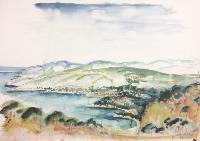 cap canaille - cassis 1998 70 x 50